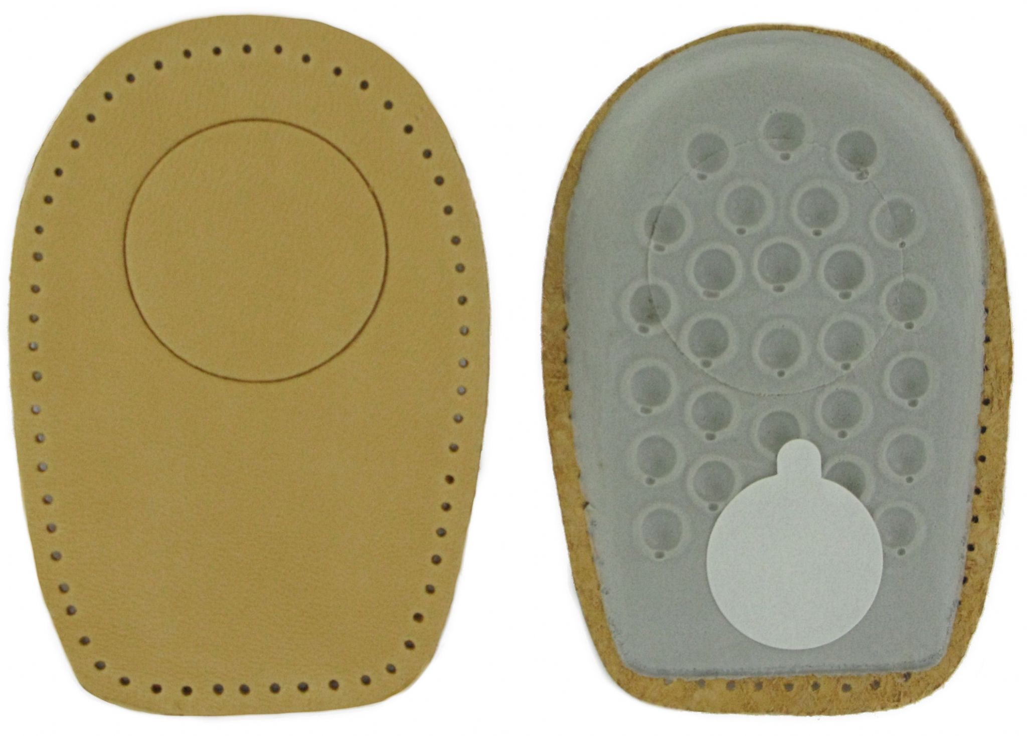aec76c90f2 Heel Spur Cushion Pads - Leather Men`s & Ladies Sizes UK 2-12 Eur 35-46